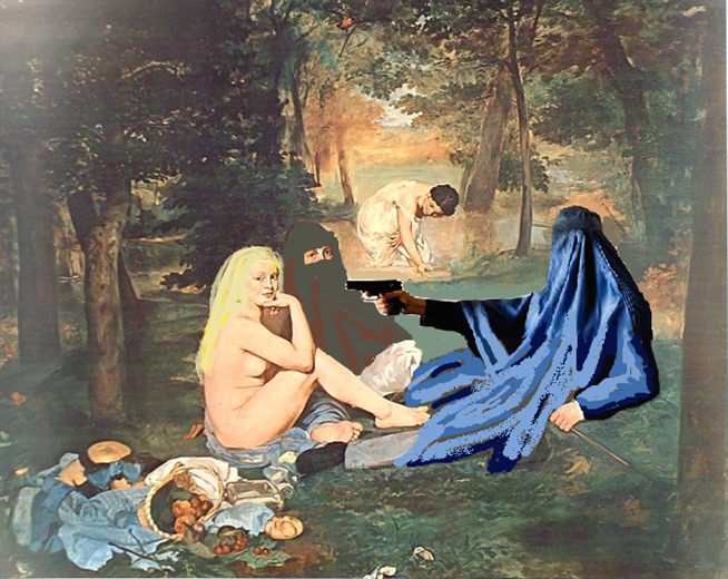 the luncheon on the grass What is interesting about this work is that, despite the contemporary setting, of the luncheon on the grass, the composition was almost entirely borrowed from raphael.