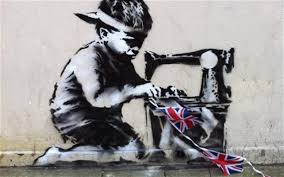 Hanna Furness,(2013). The Daily Telegraph http://www.telegraph.co.uk/news/uknews/the_queens_diamond_jubilee/9266505/Banksy-Diamond-Jubilee-graffiti-springs-up-overnight-on-London-street.html  retrieved 12th of March 2014.