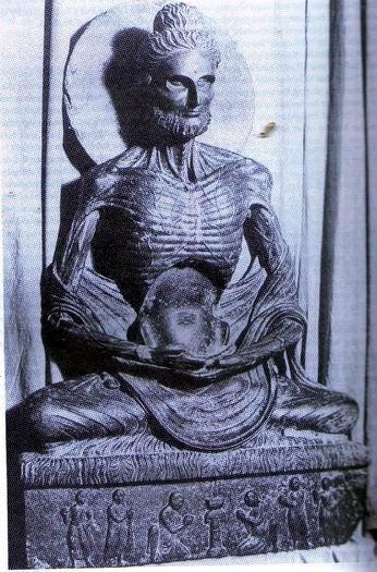 emanciated buddha
